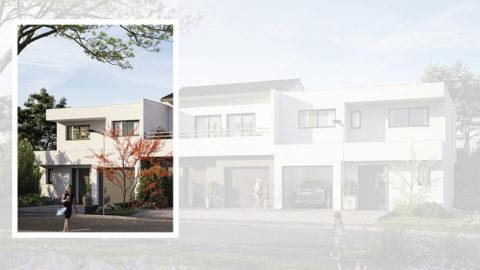 Staff Aménagement et Promotion - Les Hameaux de la Roseraie - Maisons neuves à Marly - Modèle B2 Gauche